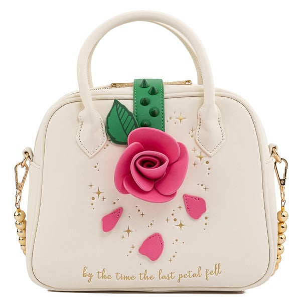 LOUNGEFLY BEAUTY AND THE BEAST ROSE CROSSBODY BAG (PRE-ORDER, MAY 2021)