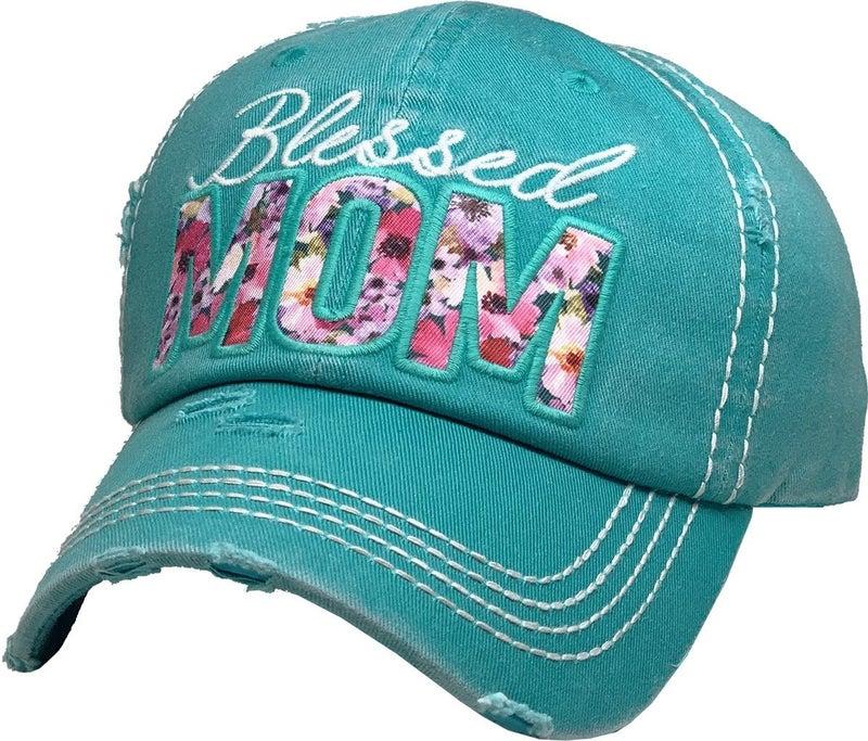 BLESSED MOM VINTAGE BALLCAP