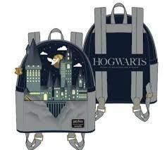 LOUNGEFLY X HARRY POTTER HOGWARTS CASTLE MINI BACKPACK