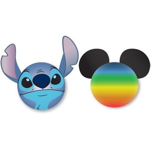 DISNEY Stitch Face and Mickey Rainbow Antenna Topper