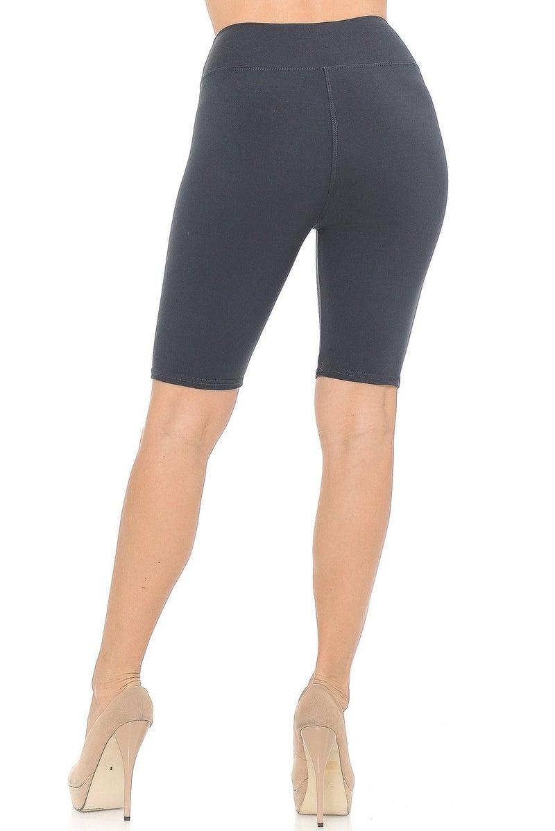 Buttery Soft Solid Biker Shorts