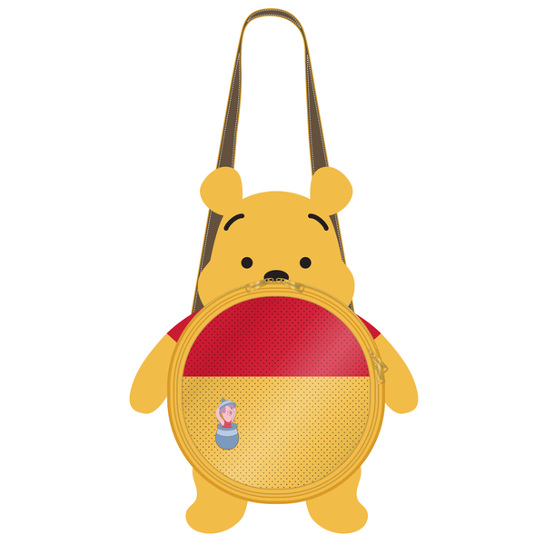 LOUNGEFLY DISNEY WINNIE THE POOH PIN TRADER BACKPACK