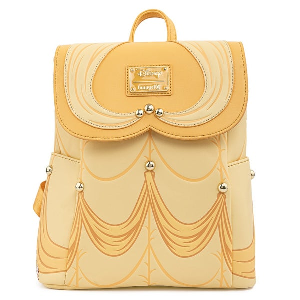 LOUNGEFLY BEAUTY AND THE BEAST BELLE COSPLAY MINI BACKPACK (PRE-ORDER, MAY 2021)