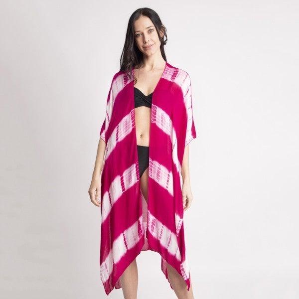 Lightweight Tie-Dye Kimono