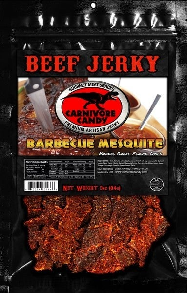 CARNIVORE CANDY BEEF JERKY