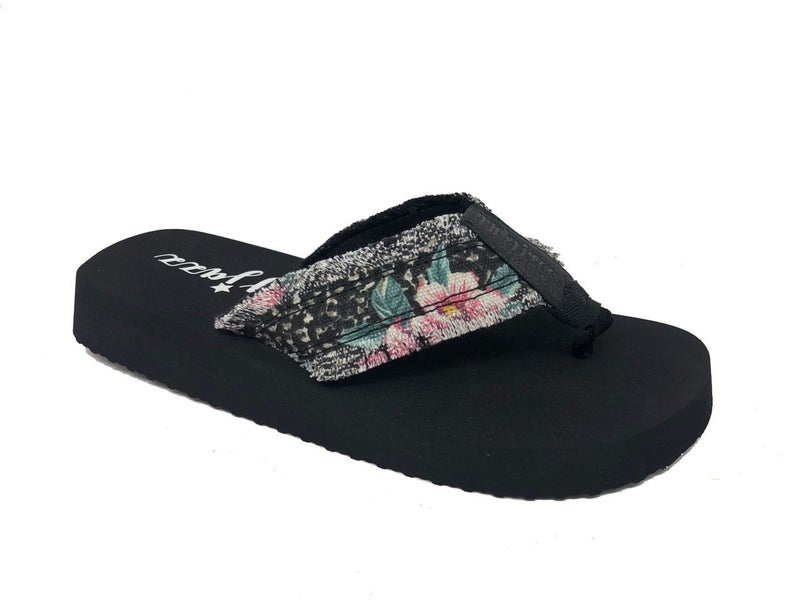 MULTI	GYPSY JAZZ GJAZZ SANDALS - BLACK PINK