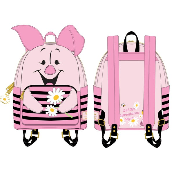 LOUNGEFLY DISNEY WINNIE THE POOH PIGLET COSPLAY MINI BACK PACK