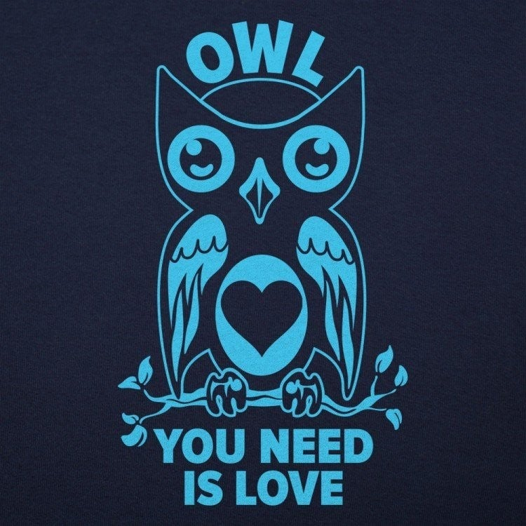 OWL YOU NEED IS LOVE GRAPHIC TEE