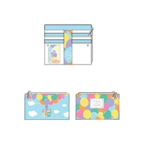 LOUNGEFLY X DISNEY UP BALLOON HOUSE FLAP WALLET