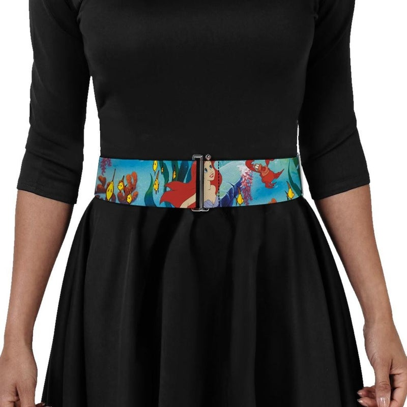 BUCKLE DOWN LITTLE MERMAID CINCH WAIST BELT