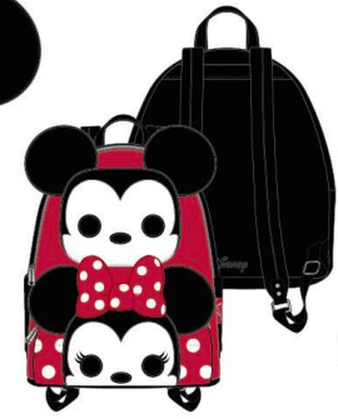 POP BY LOUNGEFLY DISNEY MICKEY AND MINNIE COSPLAY MINI BACKPACK