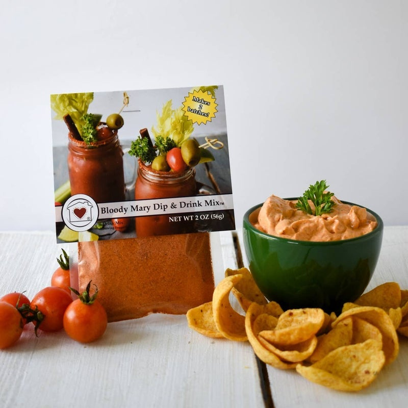 BLOODY MARY DIP & DRINK MIX