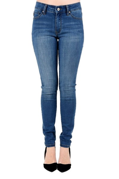 KanCan Mid Rise Skinny Jeans Medium Wash
