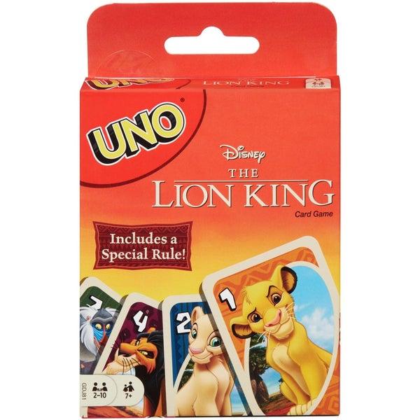 DISNEY LION KING UNO CARD GAME