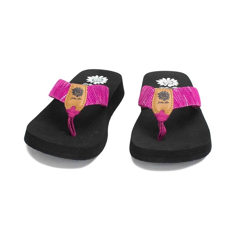 YELLOWBOX FAYNE SANDALS - FUCHSIA