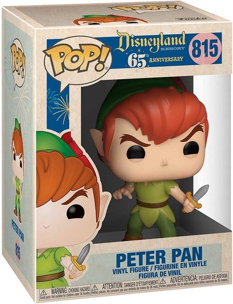 PETER PAN POP! VINYL FIGURE, DISNEYLAND 65TH ANNIVERSARY