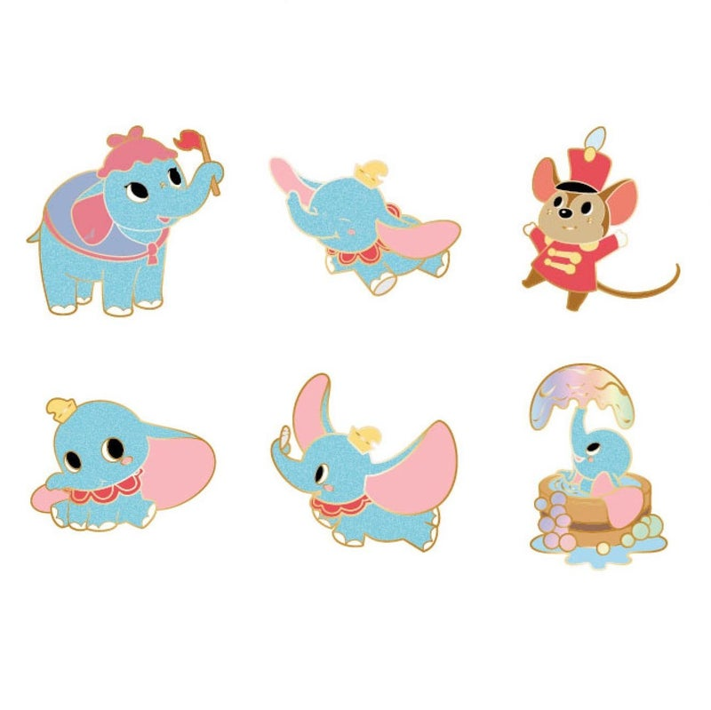 LOUNGEFLY DISNEY BABY DUMBO BLIND BOX ENAMEL PIN