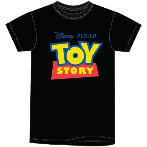 Adult Unisex T Shirt Toy Story Logo, Black