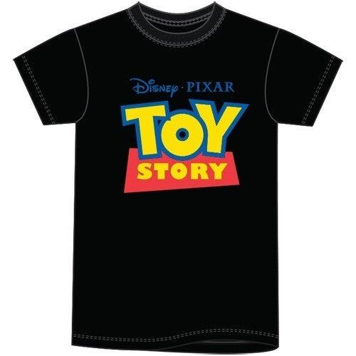 Adult Unisex T Shirt Toy Story Logo, Black