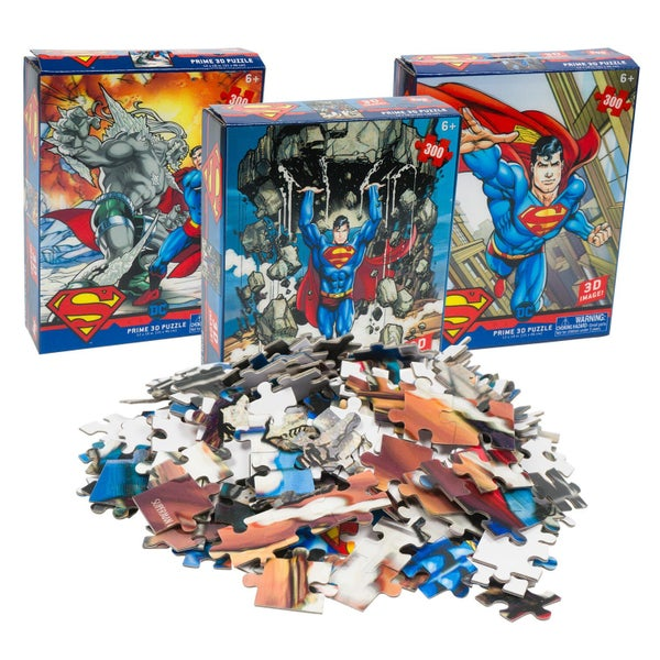 Superman 300 Piece 3D Puzzle