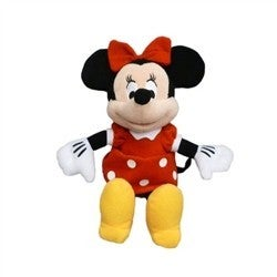 Minnie Mouse Red Dress Plush 11 Inch