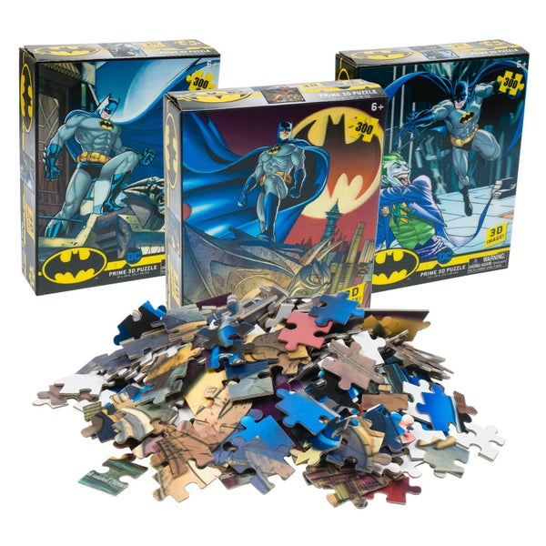 Batman 300 Piece 3D Puzzle
