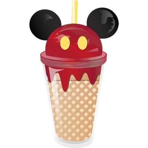 Mickey Cherry Ice Cream Ear Tumbler