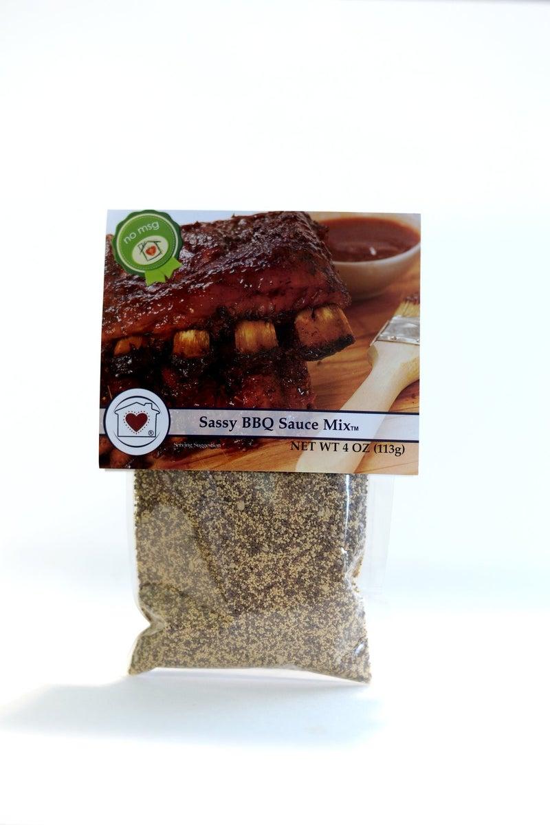 SASSY BBQ SAUCE MIX