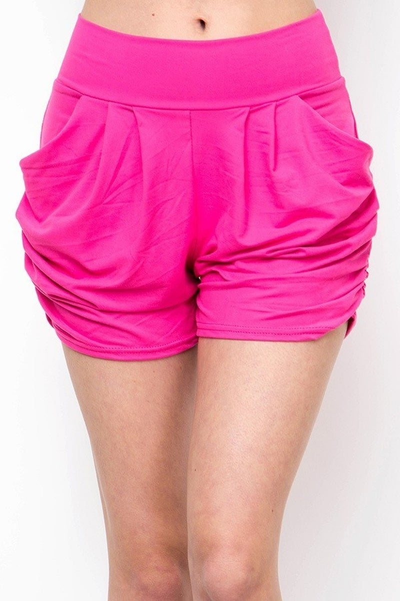 BUTTERY SOFT SOLID HAREM SHORTS