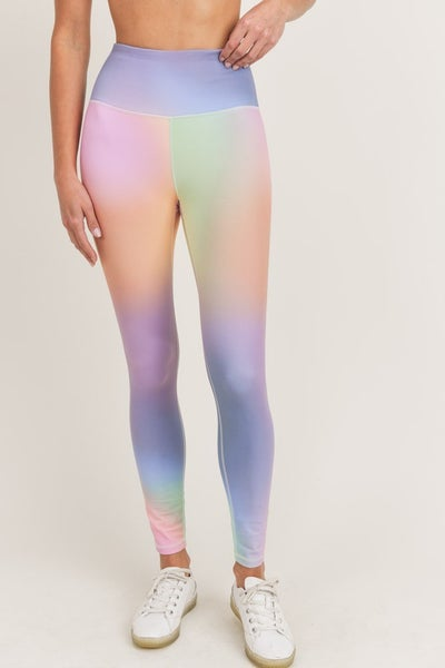 MONO B Rainbow Pastel Highwaist Leggings