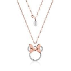 COURTURE KINGDOM Disney Minnie Mouse Bow Necklace