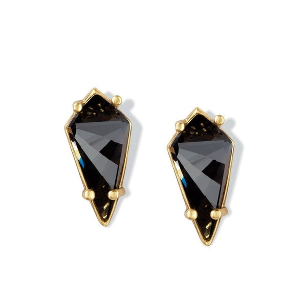 BLACK KNIGHT STUD EARRINGS