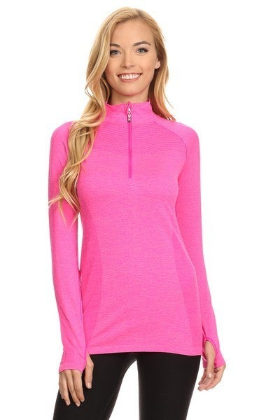 YELETE Seamless Active Living Pull Over Top