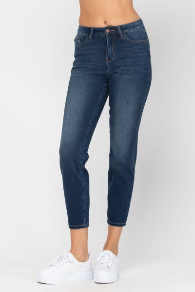 JUDY BLUE THERMADENIM THERMAL BOYFRIEND JEANS