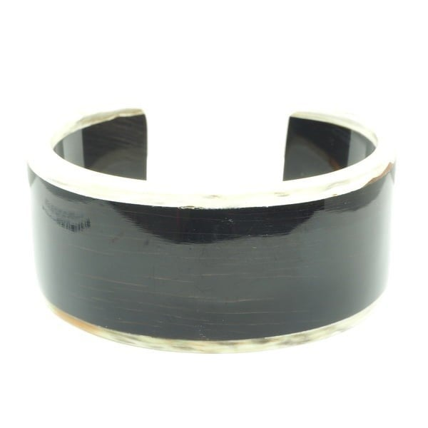 NARROW DARK CUFF WITH LIGHT TRIM
