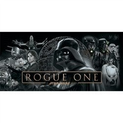STAR WARES ROGUE ONE FULL CAST BEACH TOWEL
