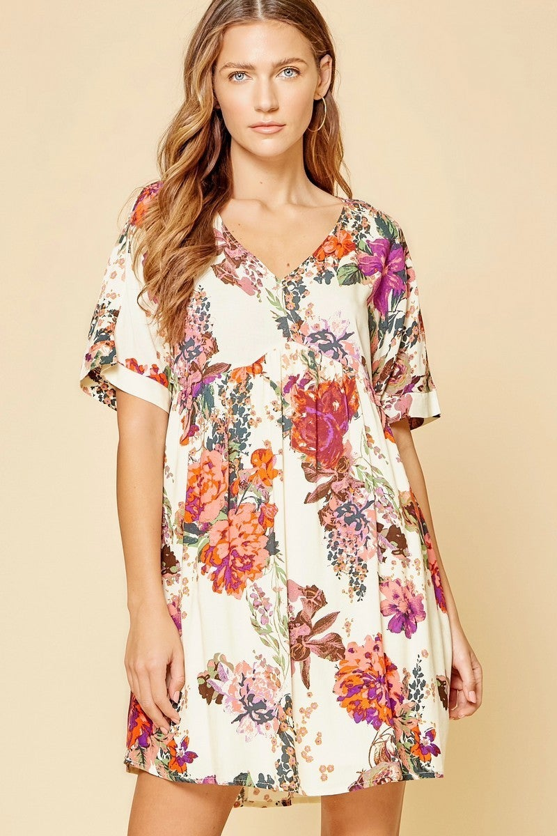 ANDREE BY UNIT FLORAL DRESS