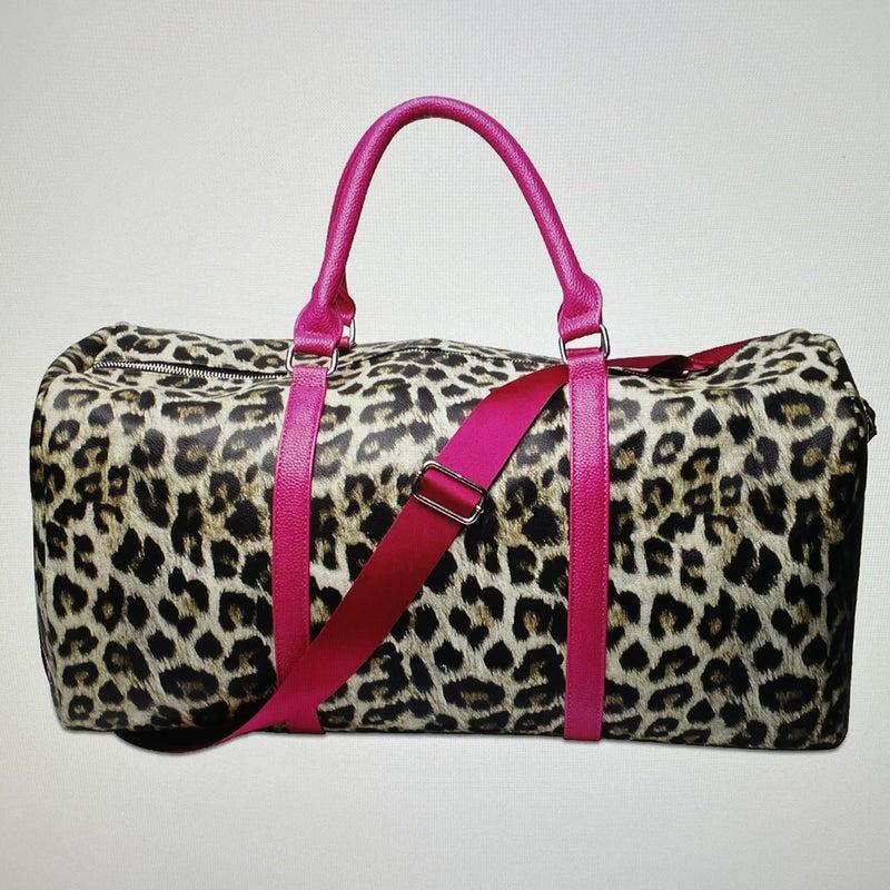 Leopard Small Weekender Bag