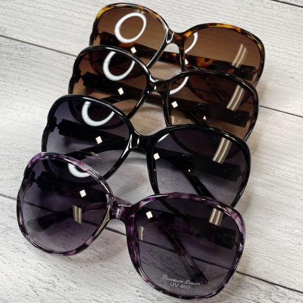 Translucent Tortoise Oversized Classic Styles Sunglasses
