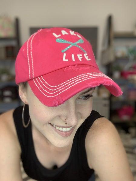LAKE LIFE VINTAGE BALLCAP HAT