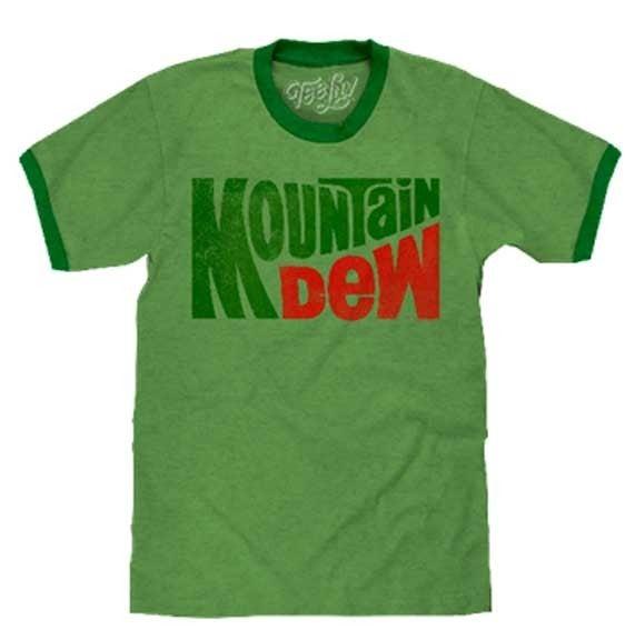 MOUNTAIN DEW GRAPHIC TEE