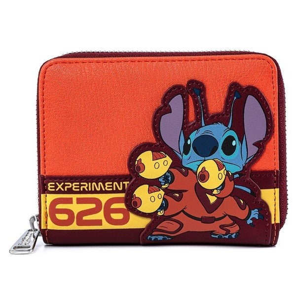 DISNEY LILO AND STITCH EXPERIMENT 626 COSPLAY ZIP AROUND WALLET