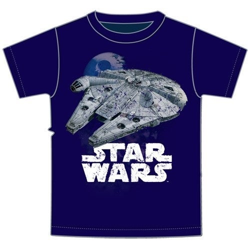 Star Wars Millenium Falcon GRAPHIC TEE, Navy