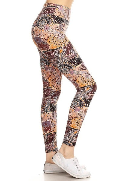 AUSTRALIAN ANIMAL PRINT LEGGINGS