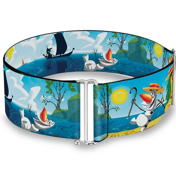 BUCKLE DOWN CINCH WAIST BELT - OLAF SUMMERTIME SCENES
