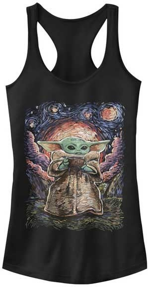 STAR WARS SIPPING STARRIES TANK TOP