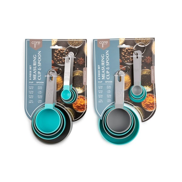 CORE KITCHEN 8pc Everyday Measuring Set