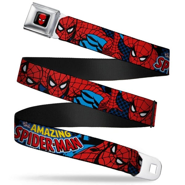 BUCKLE DOWN SPIDERMAN SEATBELT BELT
