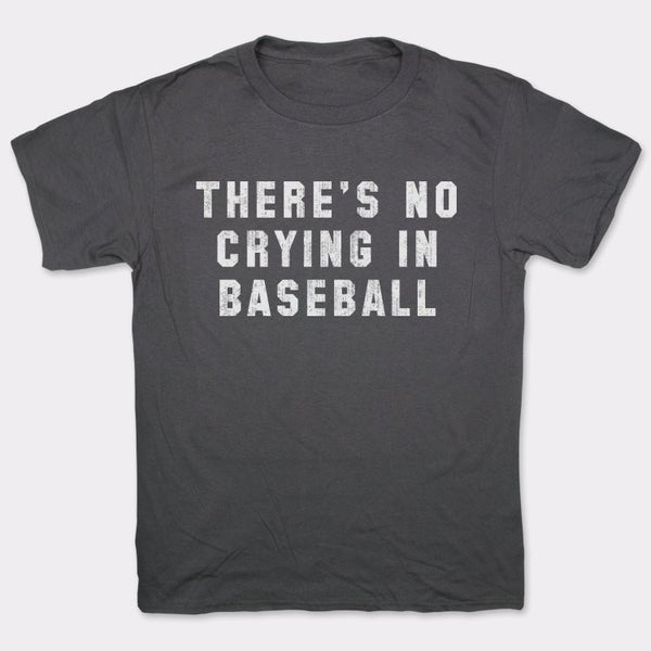 NO CRYING IN BASEBALL GRAPHIC TEE