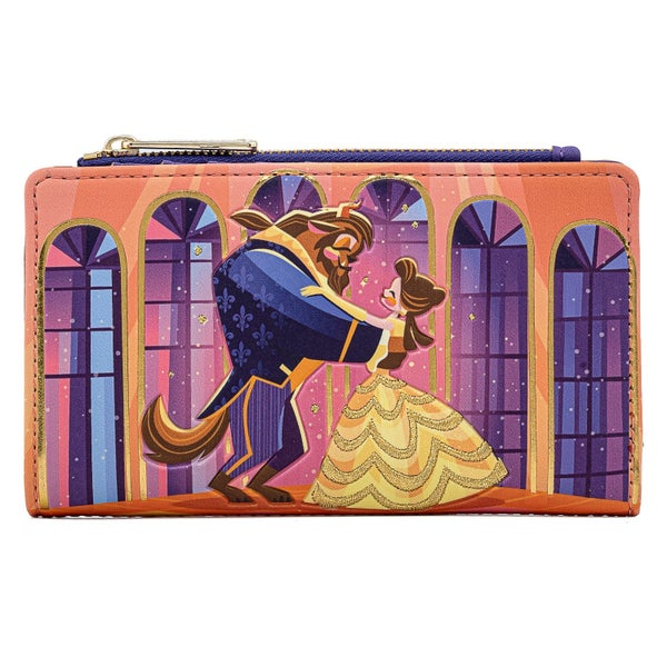 LOUNGEFLY BEAUTY AND THE BEAST BALLROOM SCENE WALLET (PRE-ORDER, MAY 2021)